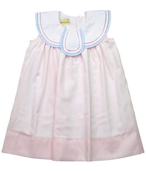 Marco & Lizzy Pink Tulip Dress
