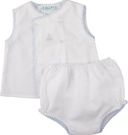 Feltman Brothers Diaper Sets (Sailboat, Horse, Scalloped, Lace)