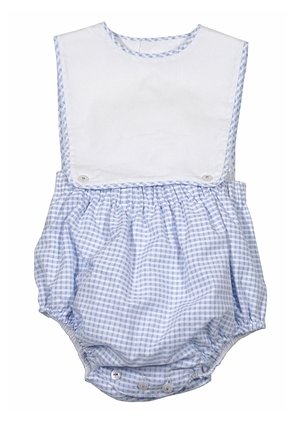 Sophie & Lucas Blue Check Overall