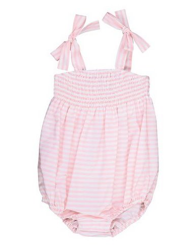 Busy Bees Ella Pink Stripe Ruched Bubble