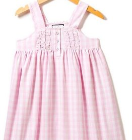 Petit Plume Pink Gingham Charlotte Nightgown