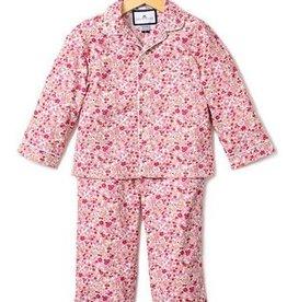 Petit Plume Red Floral Pajamas
