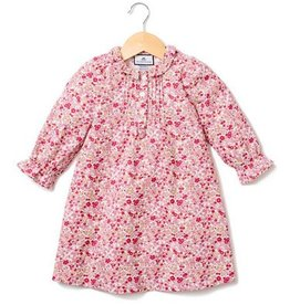 Petit Plume Red Floral Victoria Nightgown