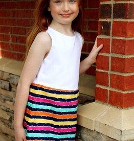 Susanne Lively Stripe Skirt Dress