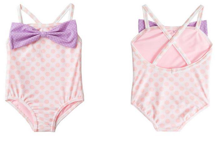 FrouFrou Charlotte Pink Dot Swimsuit