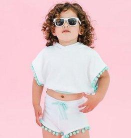 FrouFrou Mint High-Waist Shorts