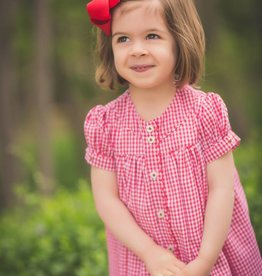 The Proper Peony Red Gingham Stella Dress