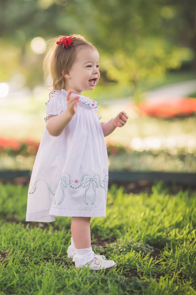 The Proper Peony White Windsor Dress
