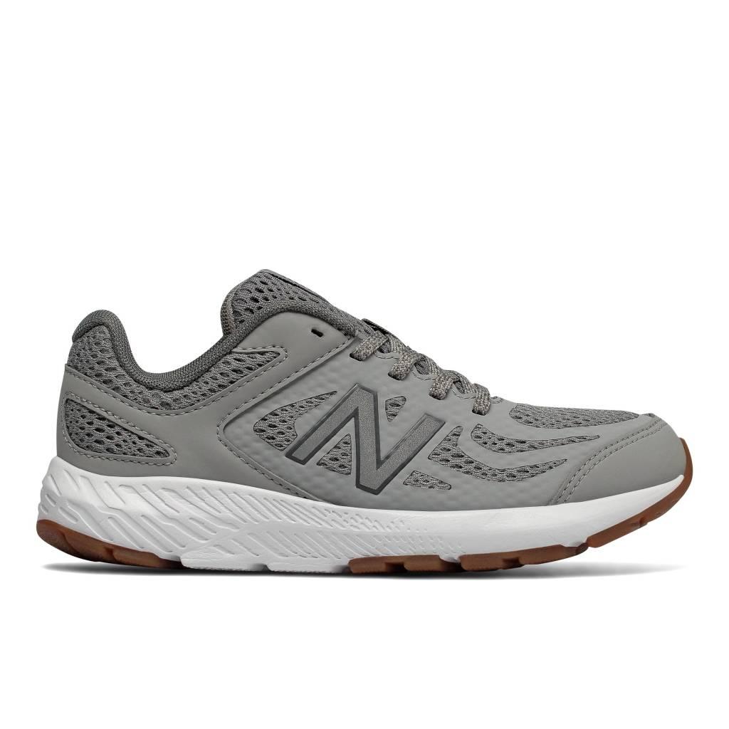 New Balance Grey Youth (Tie)