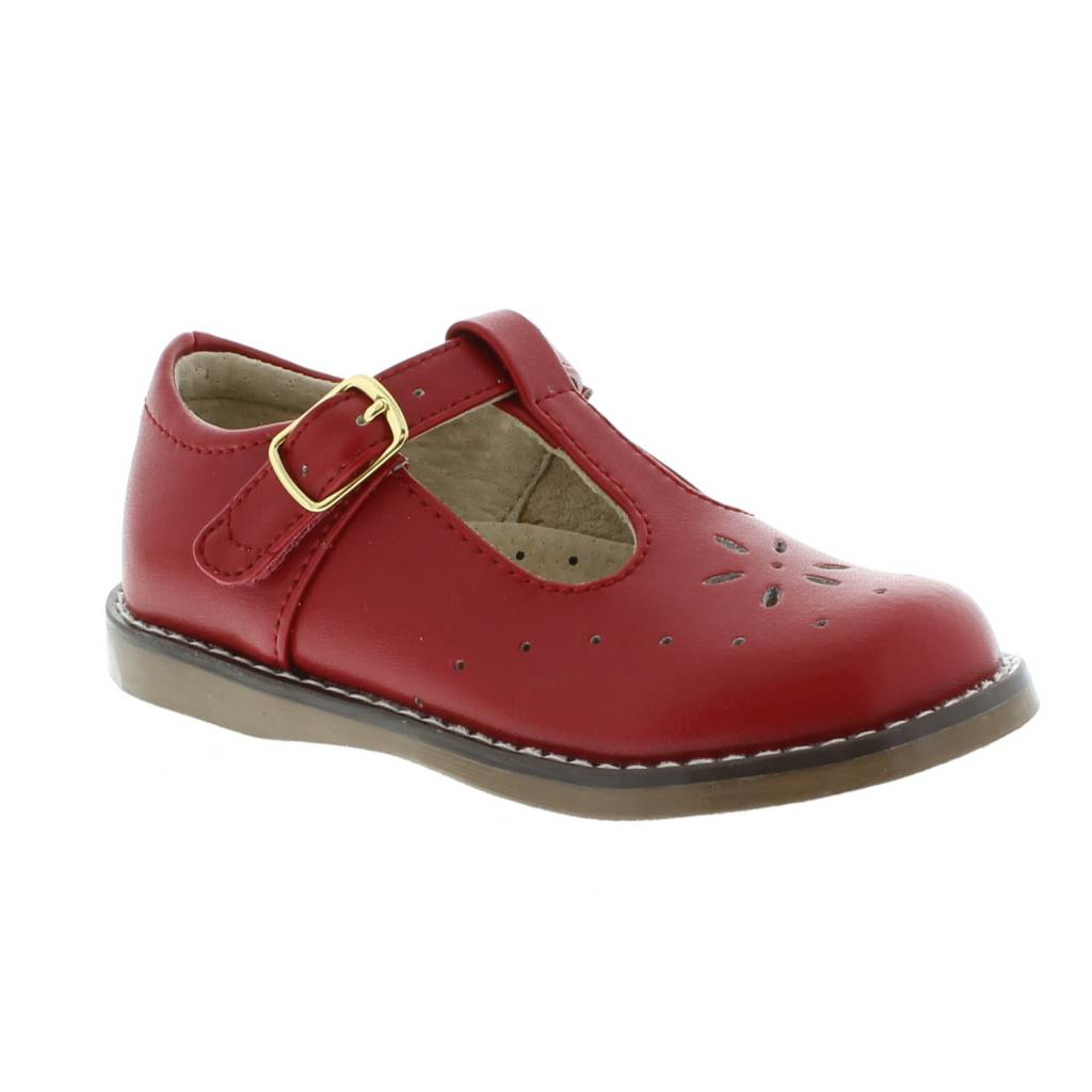 Footmates Sherry Red