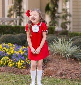 The Oaks Rosa Tab Red Dress