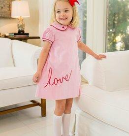 Lullaby Set Pink Love Dress