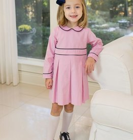 Lullaby Set Pink & Navy Cord Dress