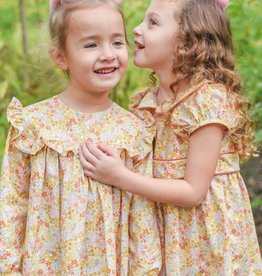 James & Lottie Cecilia Marigold Dress