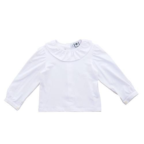 Busy Bees White Eloise Blouse