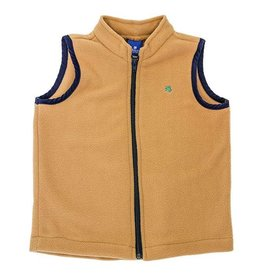 J Bailey Saddle Fleece Vest