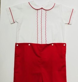 Lulu Bebe Finn Short Set Red