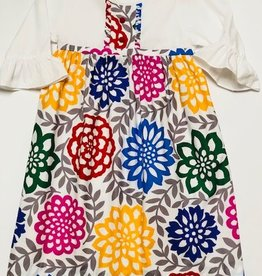 LeZaMe Kadi Dress Flower Power