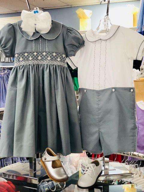 Lulu Bebe Finn Short Set Gray