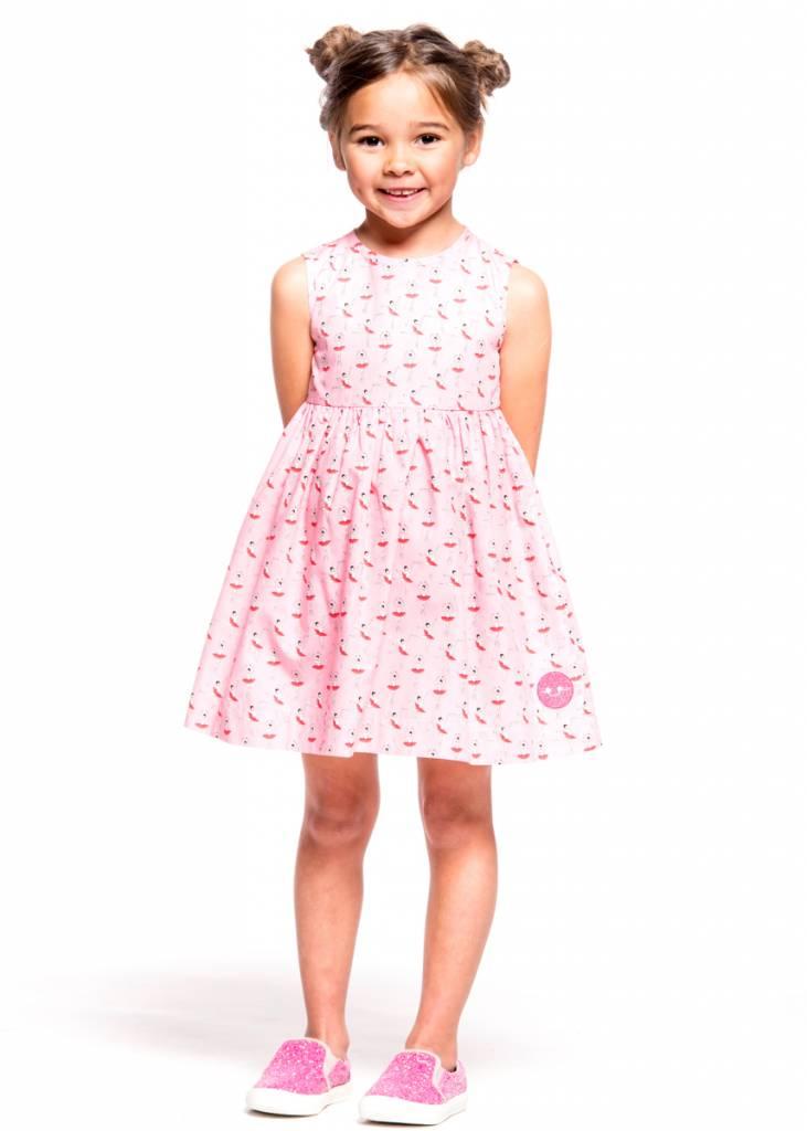 Smiling Button Ballerina Pinny