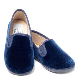 Petite Plume Gable Navy Slip-On