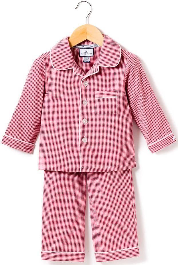 Petite Plume Red Gingham Pajamas
