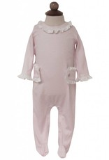 Lila & Hayes Lucy Pink Stars Romper