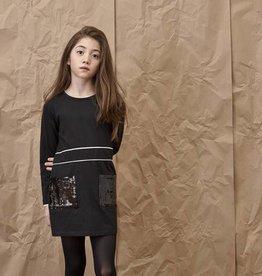 Blu by Blu Sequin Pocket Dress