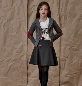 Blu by Blu Charcoal Skirt