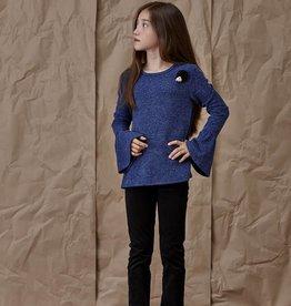Blu by Blu Cobalt Bell Sleeve Top