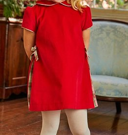 Bella Bliss Red Fall Presley Dress