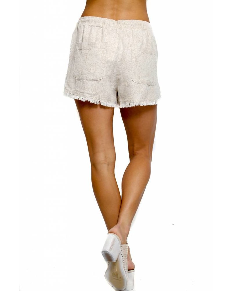 Bella Dahl Bella Dahl Fray Hem Sporty Short