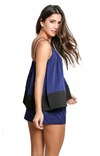 Cameo Cameo Two Lanes Playsuit