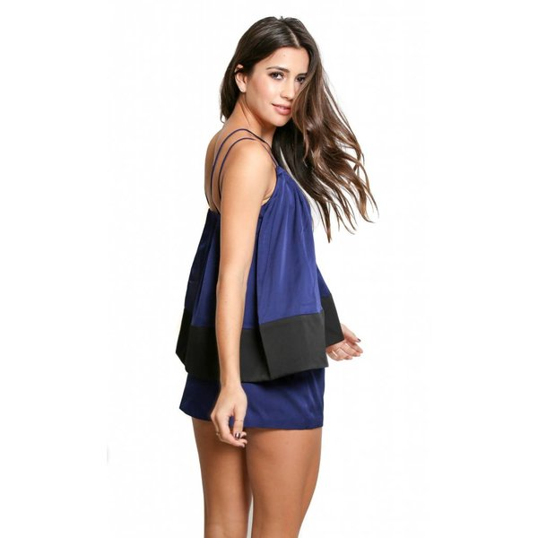 Cameo Two Lanes Playsuit