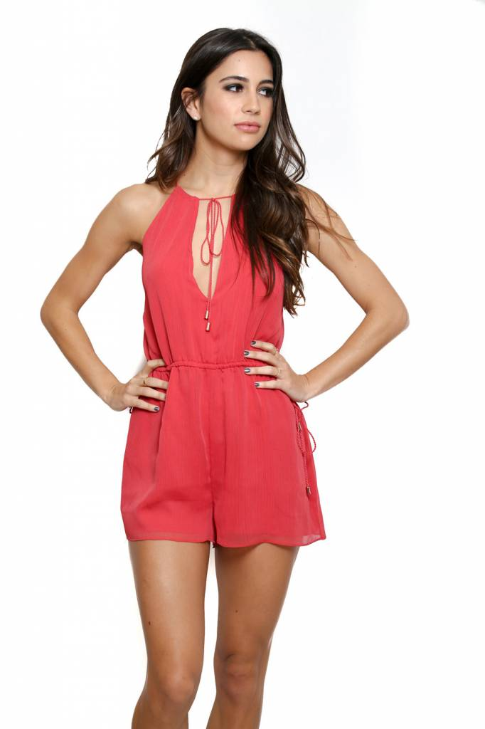 The JetSet Diaries The Jetset Diaries Shale Romper