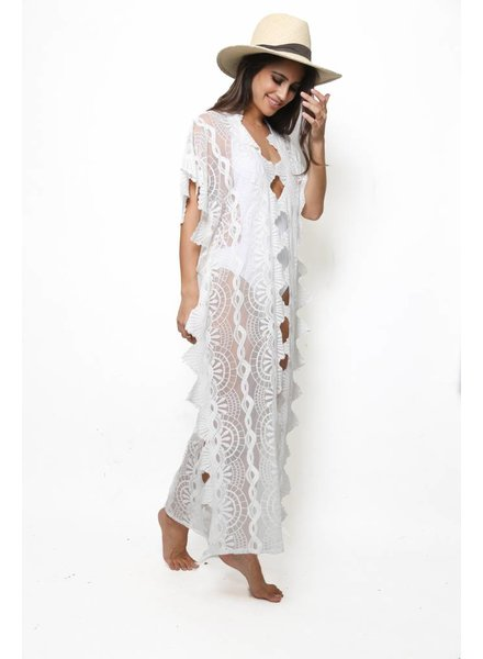 Nightcap Nightcap Mayan Lace Caftan