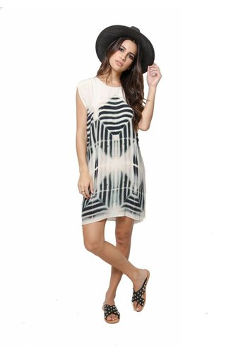 Laura Siegel Laura Siegel Clamp Dye Soft Dress