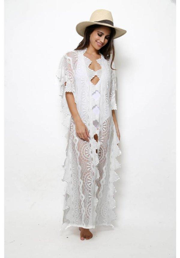 Nightcap Mayan Lace Caftan