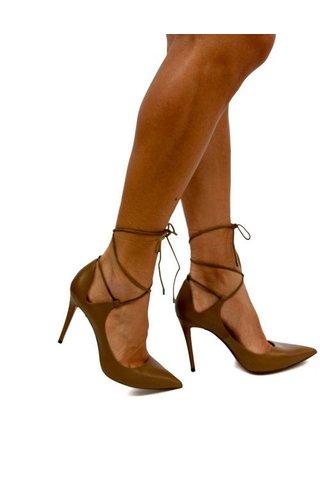 Pura Lopez Pura Lopez Lacey Heel