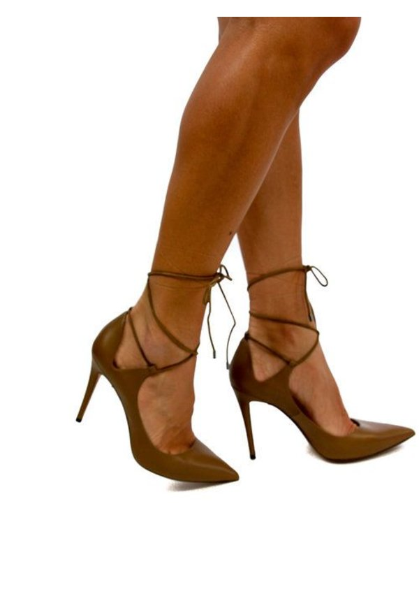 Pura Lopez Lacey Heel