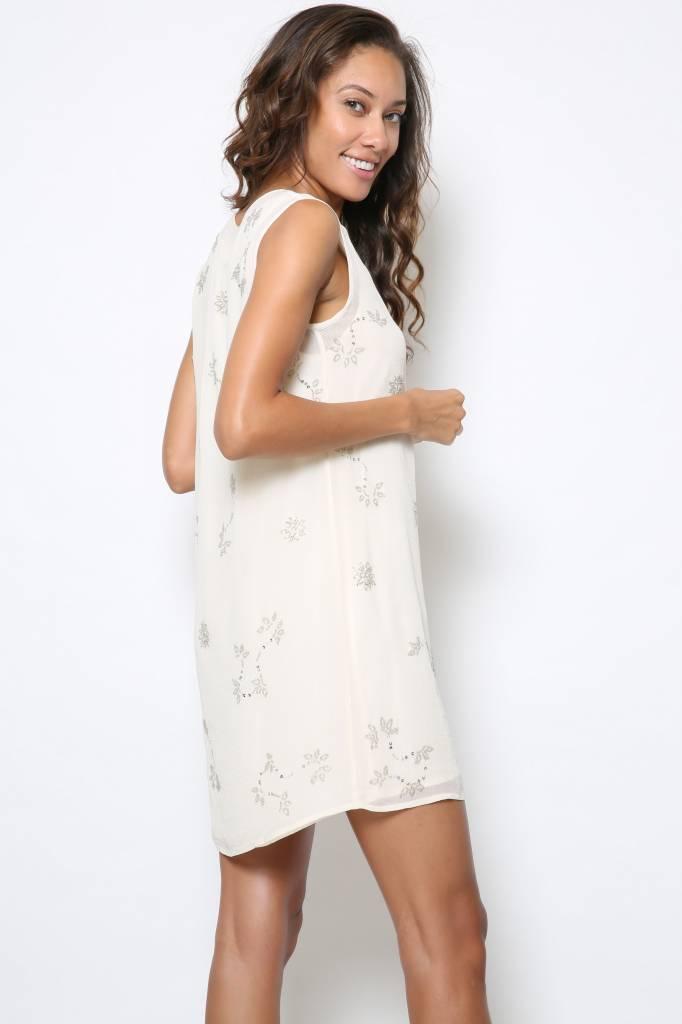 Chan Luu Chan Luu Georgette Shift Dress