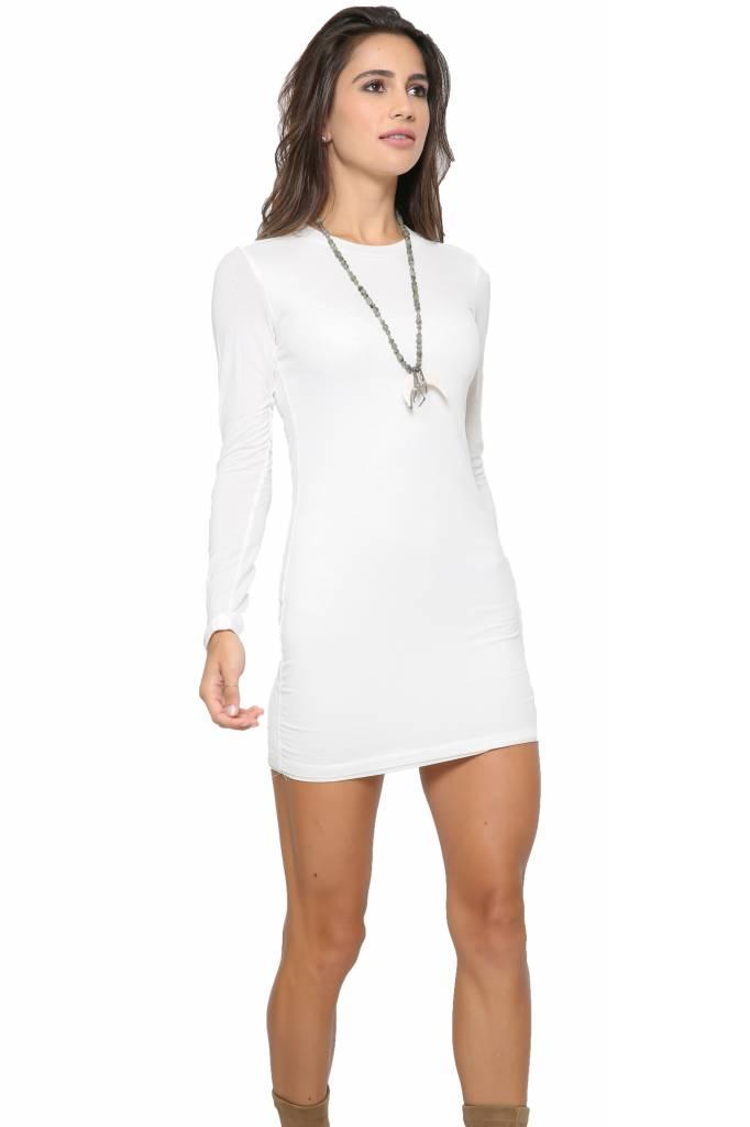 BLQ BASIQ BLQ Basiq Long Sleeve Mini Dress - Mikinola