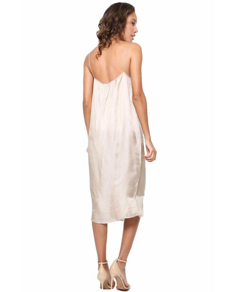 Chan Luu Chan Luu Rayon Satin Slip Dress