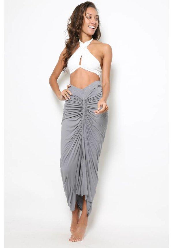 Laura Siegel Solid Jersey Skirt