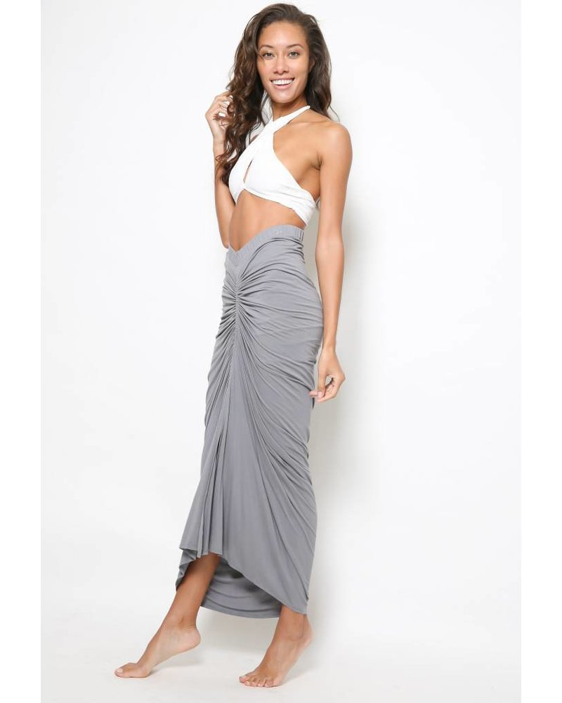 Laura Siegel Laura Siegel Solid Jersey Skirt