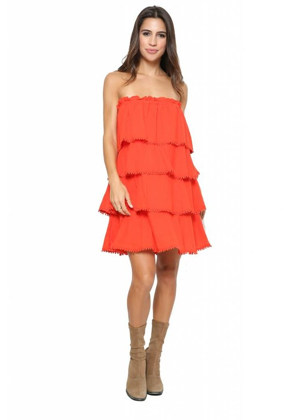 Red Carter Allaire Dress