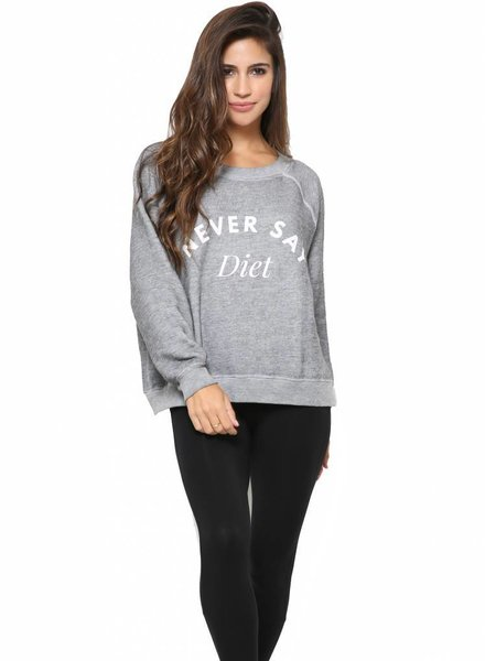 Wildfox Couture Wildfox Never Say Diet Sommers Sweater