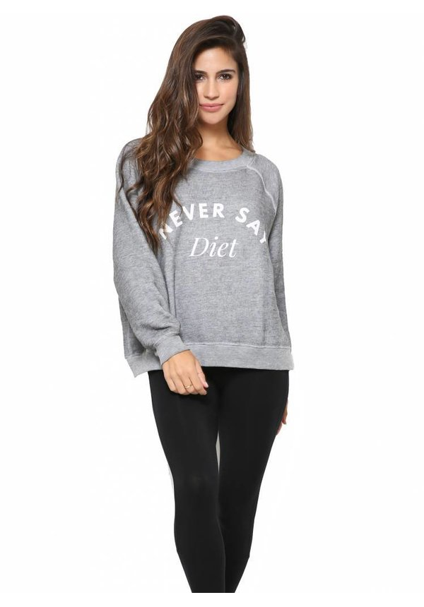 Wildfox Never Say Diet Sommers Sweater