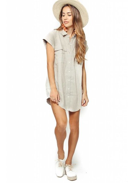 Coast Coast Button Up Tunic