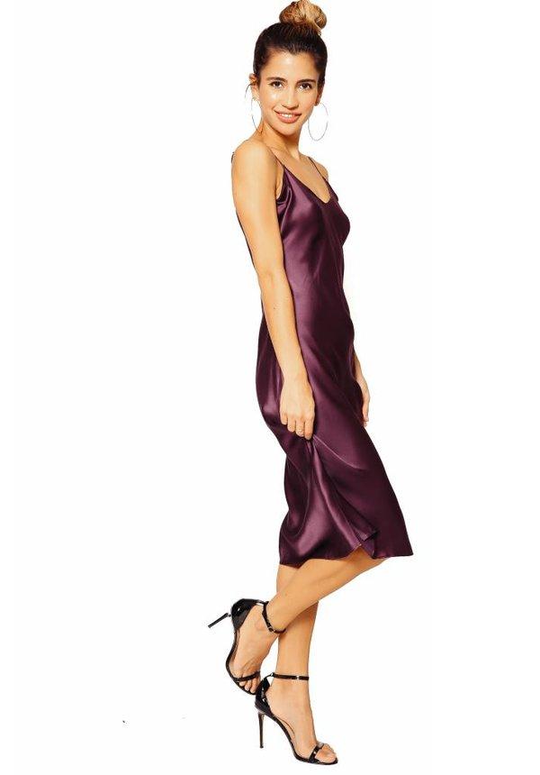CAMI NYC Raven Slip Dress